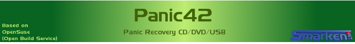 Banner: Panic Recovery CD/DVD/USB
